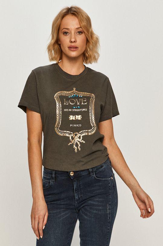 szürke Pinko - T-shirt Női