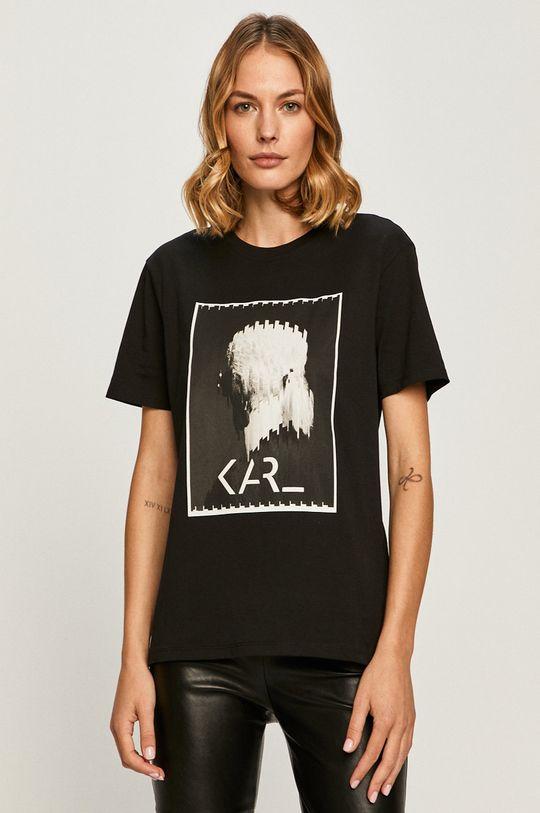 čierna Karl Lagerfeld - Tričko Dámsky
