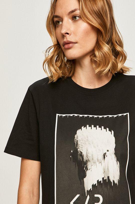 čierna Karl Lagerfeld - Tričko