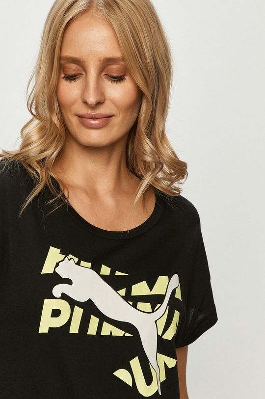čierna Puma - Tričko