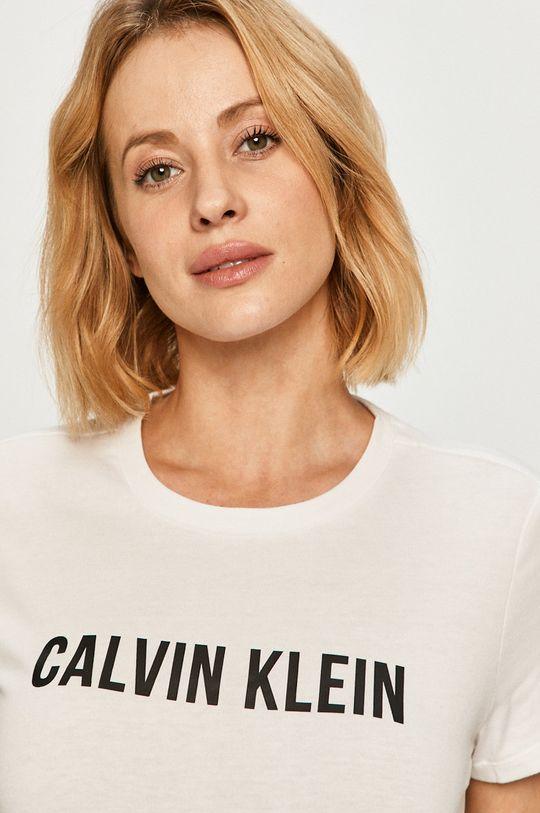 alb Calvin Klein Performance - Tricou De femei