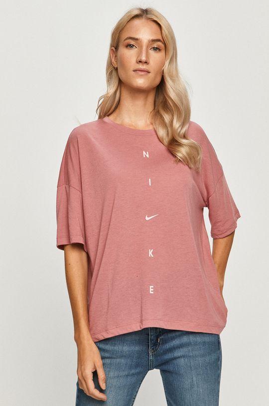 roz murdar Nike - Tricou De femei