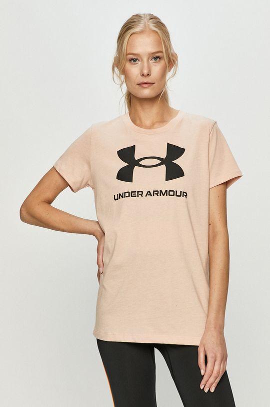 pastelově růžová Under Armour - Tričko