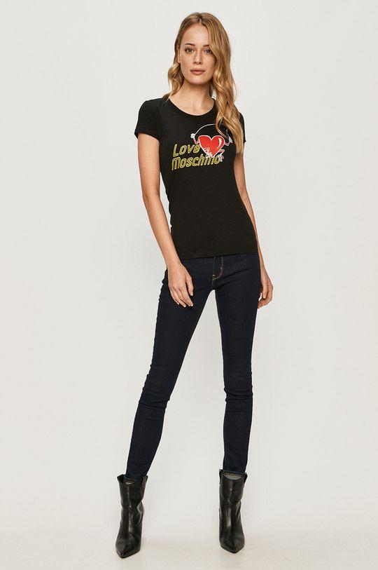 Love Moschino - Tričko černá