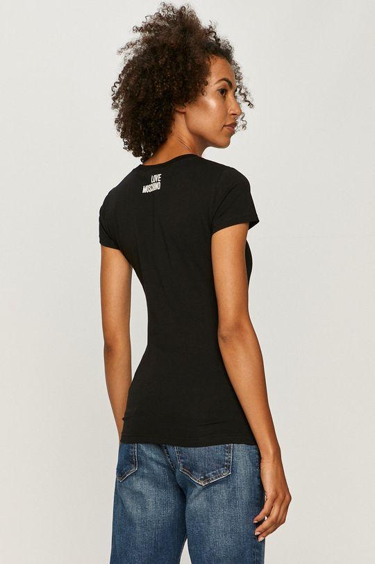 Love Moschino - T-shirt Materiał zasadniczy: 95 % Bawełna, 5 % Elastan, Wykończenie: 98 % Bawełna, 2 % Elastan