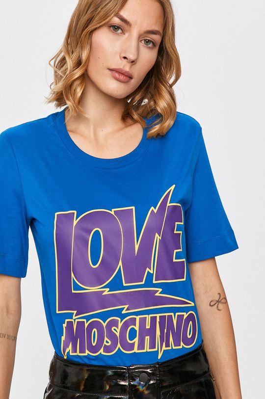 modrá Love Moschino - Tričko