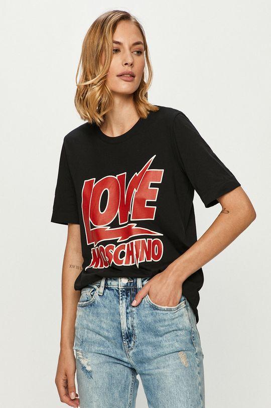 čierna Love Moschino - Tričko