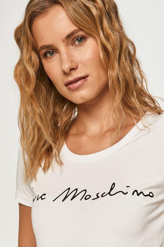 alb Love Moschino - Tricou
