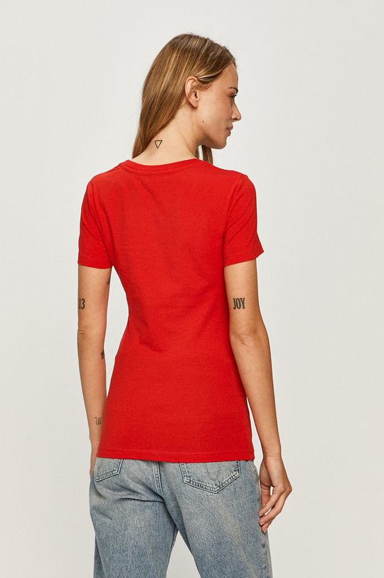 Love Moschino - Tricou  Materialul de baza: 96% Bumbac, 4% Elastan Finisaj: 98% Bumbac, 2% Elastan