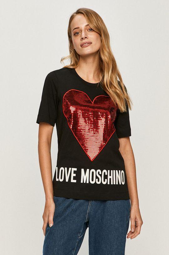 negru Love Moschino - Tricou De femei