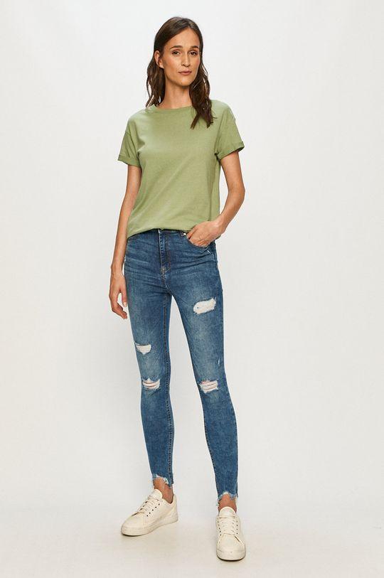 Tally Weijl - Tričko zelená
