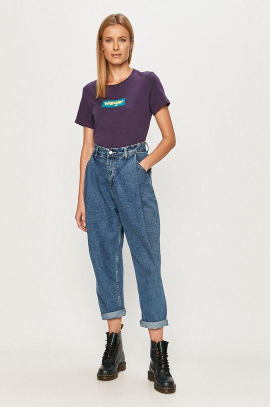 Wrangler - Tričko fialová