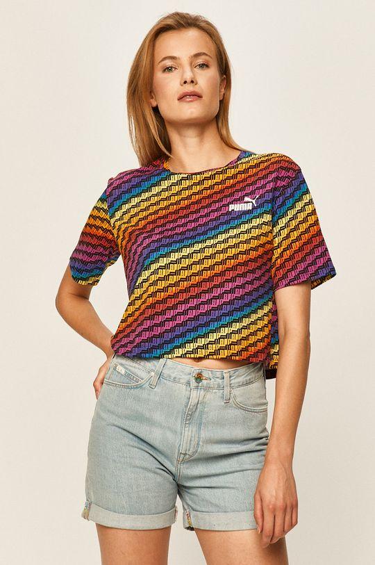 vícebarevná Puma - Tričko