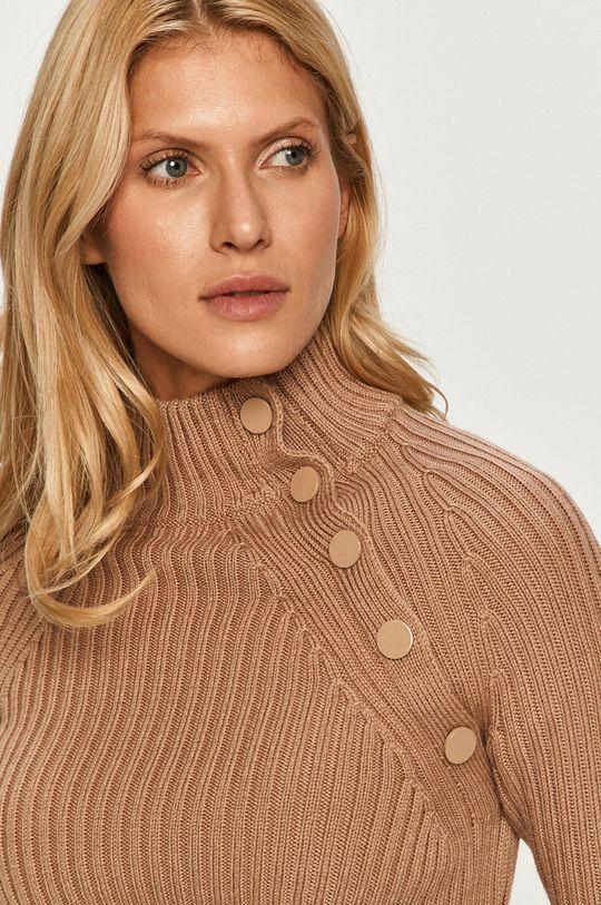 złoty brąz Sportmax Code - Sweter