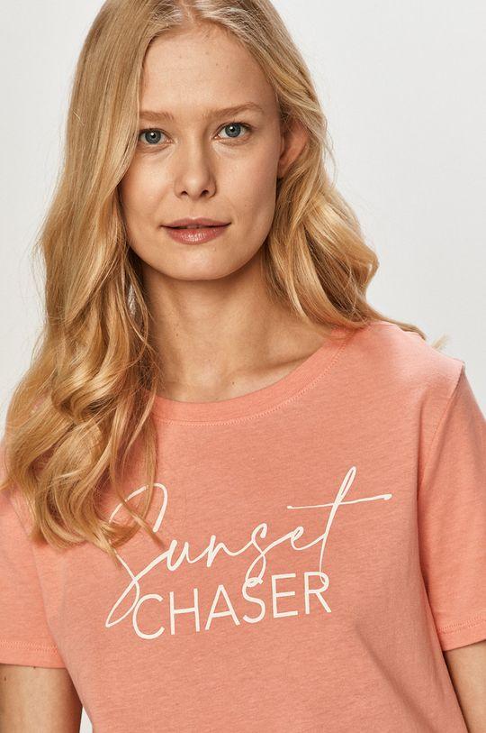 ostry różowy Tally Weijl - T-shirt
