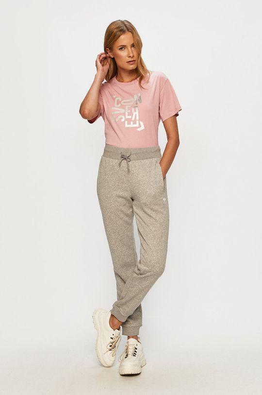 Converse - T-shirt różowy