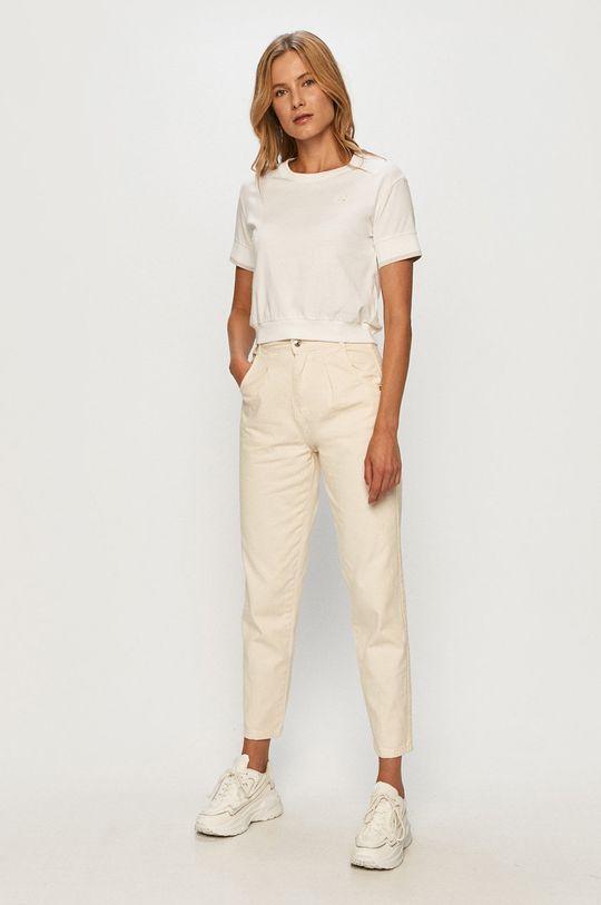New Balance - T-shirt biały