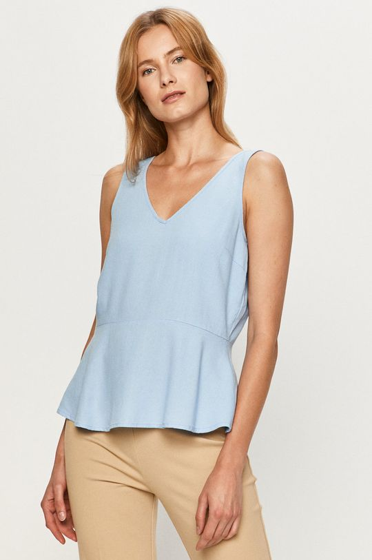 niebieski Vero Moda - Bluzka Damski