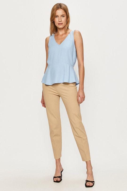 Vero Moda - Bluzka niebieski