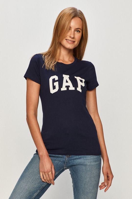 GAP - T-shirt (2-pack) granatowy