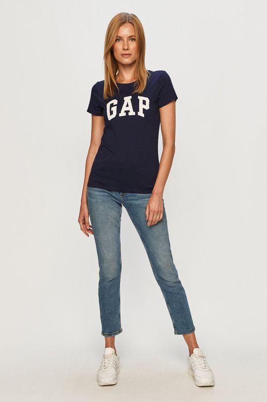 granatowy GAP - T-shirt (2-pack)
