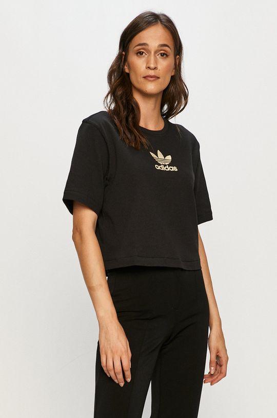 czarny adidas Originals - T-shirt
