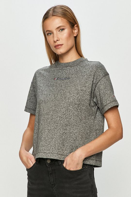szary Champion - T-shirt Damski