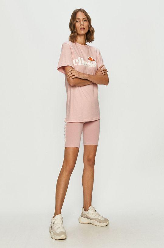 Ellesse - T-shirt rózsaszín