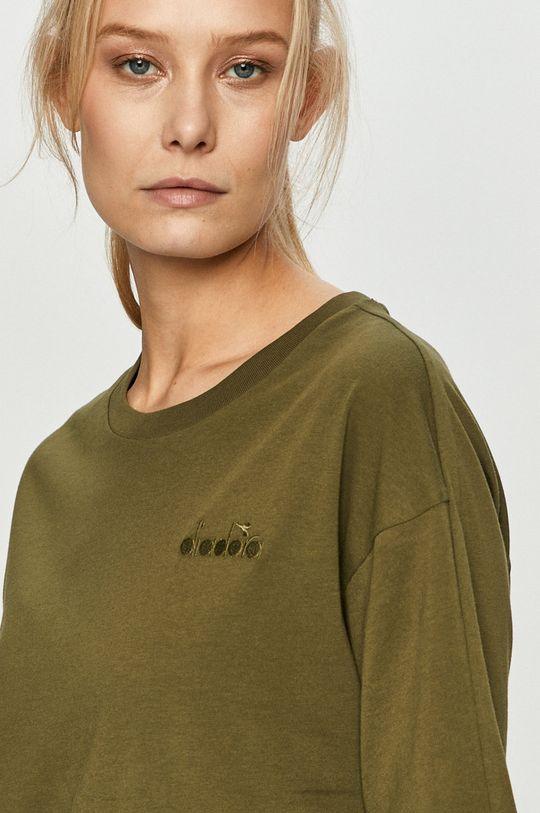 oliwkowy Diadora - T-shirt