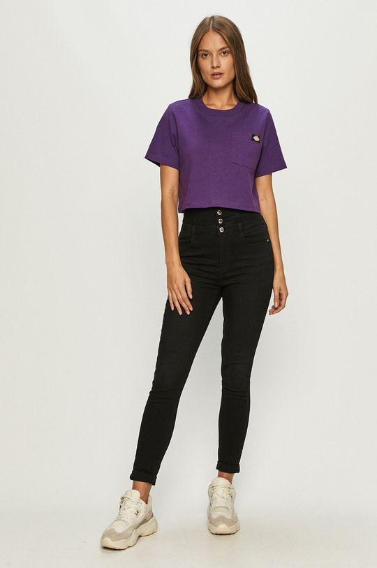 Dickies - T-shirt purpurowy