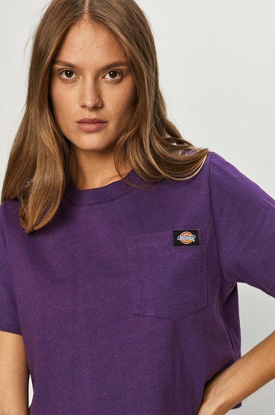 purpurowy Dickies - T-shirt