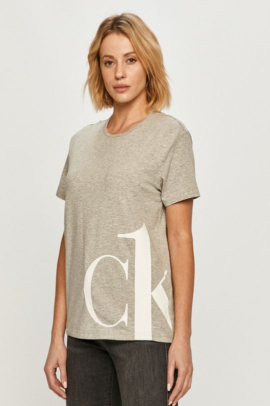 světle šedá Calvin Klein Underwear - Tričko CK One Dámský