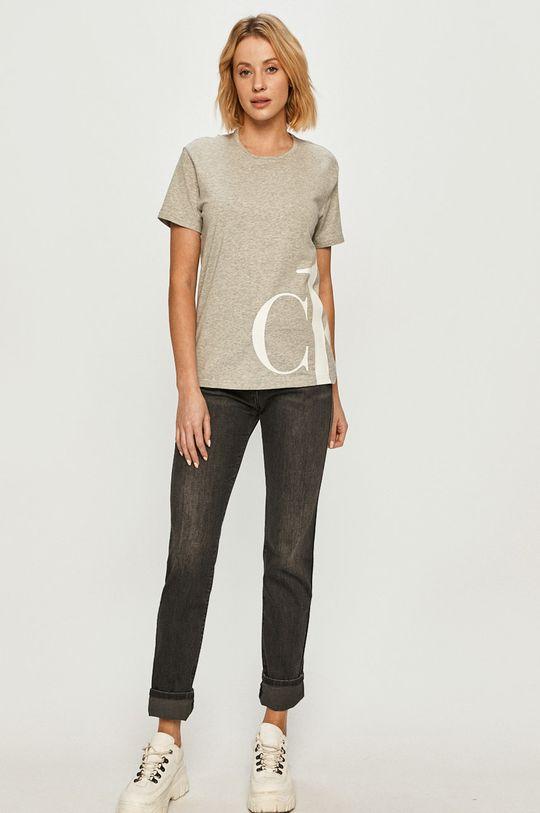 Calvin Klein Underwear - Tričko CK One světle šedá