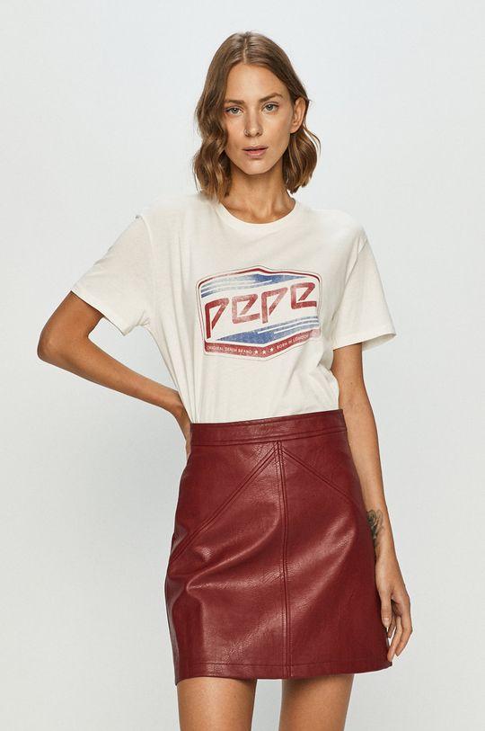biały Pepe Jeans - T-shirt Musette Damski
