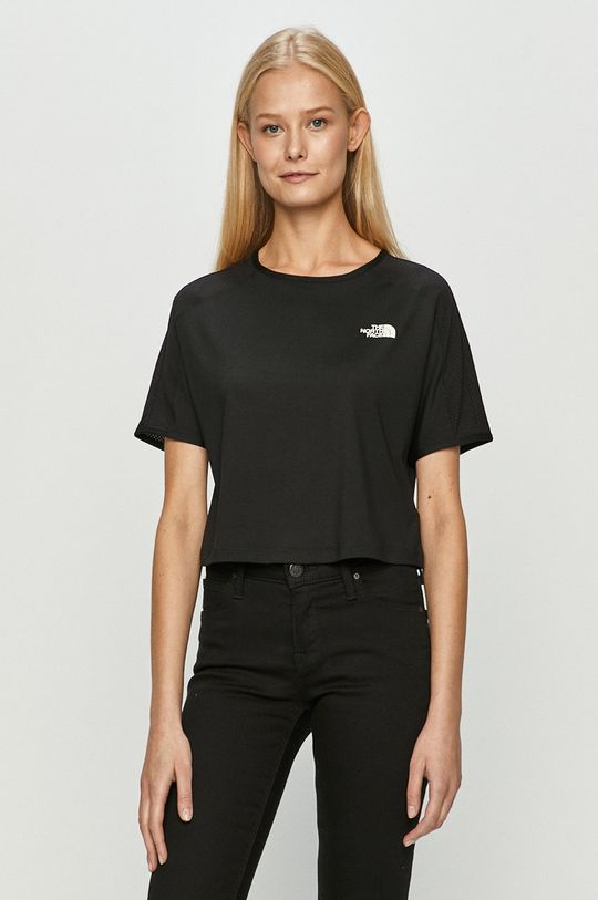 czarny The North Face - T-shirt Damski