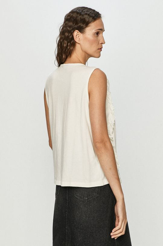 Vero Moda - Bluzka bawełniana 100 % Bawełna