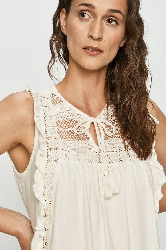 biały Vero Moda - Bluzka bawełniana