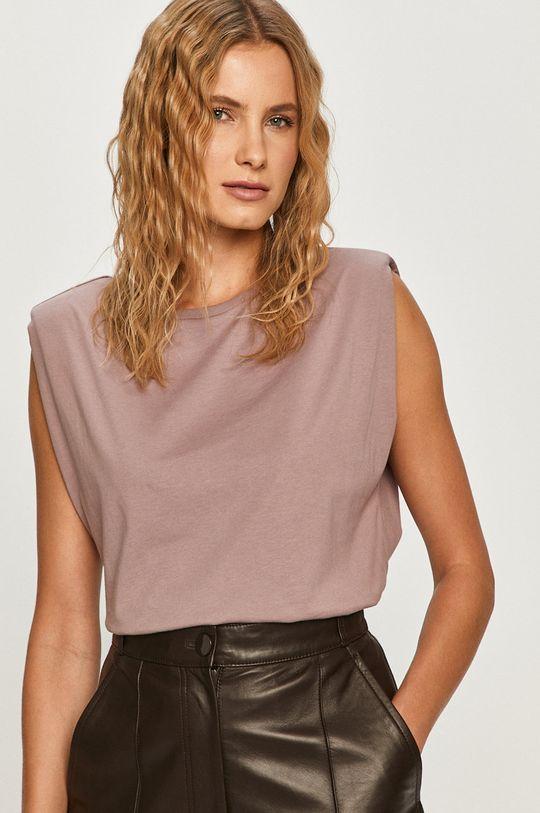 fioletowy Vero Moda - T-shirt Damski