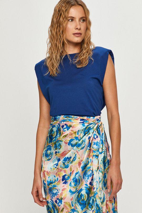 niebieski Vero Moda - T-shirt Damski