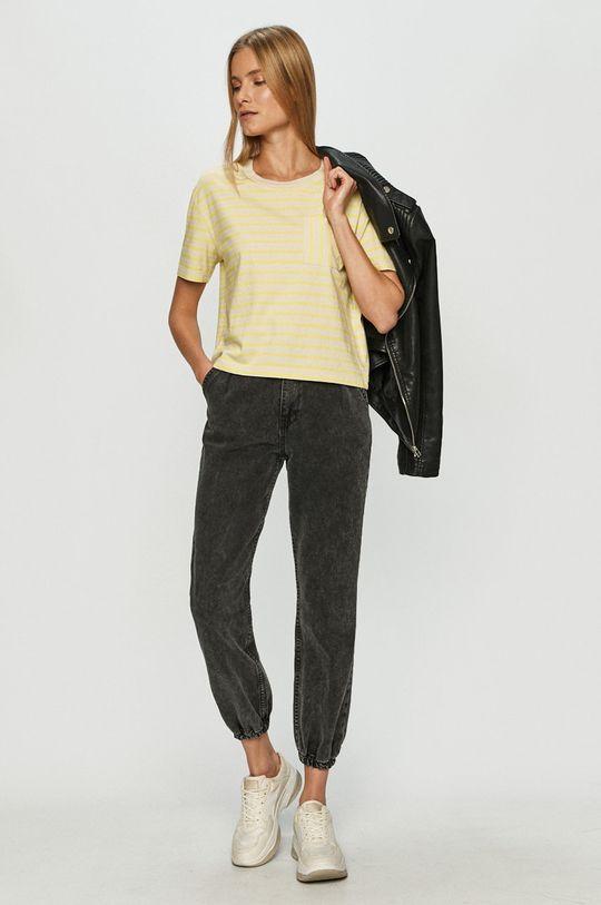 Vans - Tričko jasně žlutá