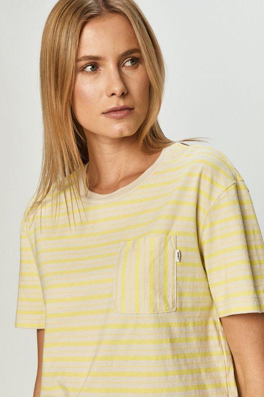 jasně žlutá Vans - Tričko