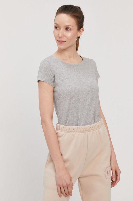 jasny szary 4F - T-shirt/polo NOSH4.TSD001 Damski