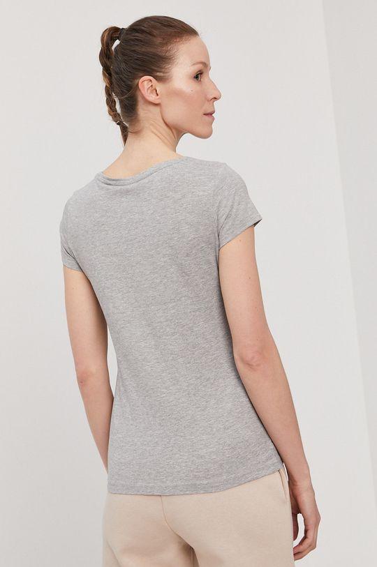 4F - T-shirt/polo NOSH4.TSD001 jasny szary