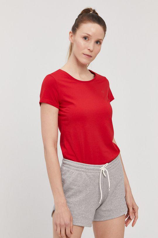 4F - T-shirt/polo NOSH4.TSD001 95 % Bawełna, 5 % Elastan