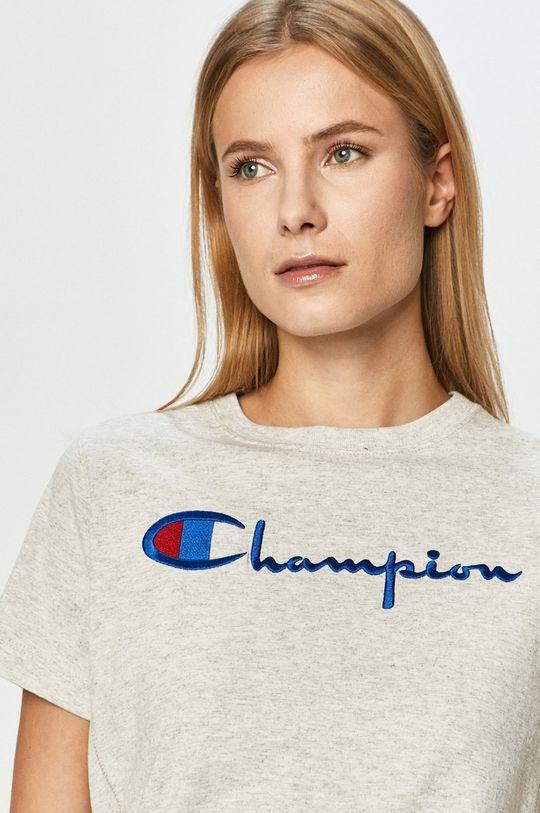 jasny szary Champion - T-shirt Damski