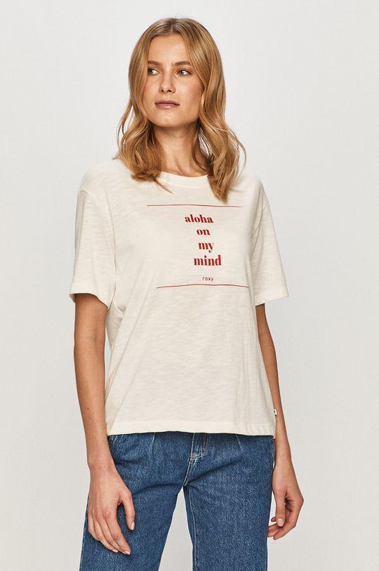 bílá Roxy - Tričko Dámský