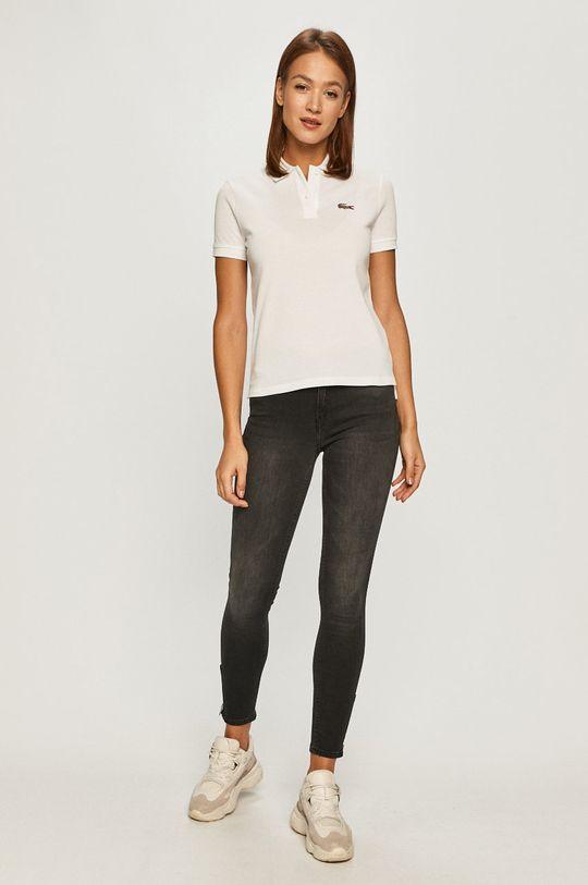 Lacoste - Tričko biela