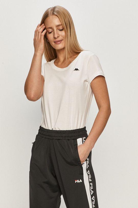 biały Kappa - T-shirt Damski