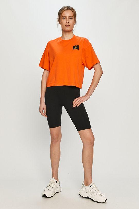 oranžová Jordan - Tričko Dámský
