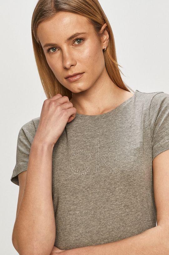 svetlosivá Calvin Klein - Tričko